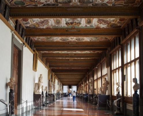 THE UFFIZI MUSEUM tour